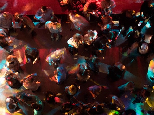 Disco Nightclub Dance Party Lights  - 46173 / Pixabay