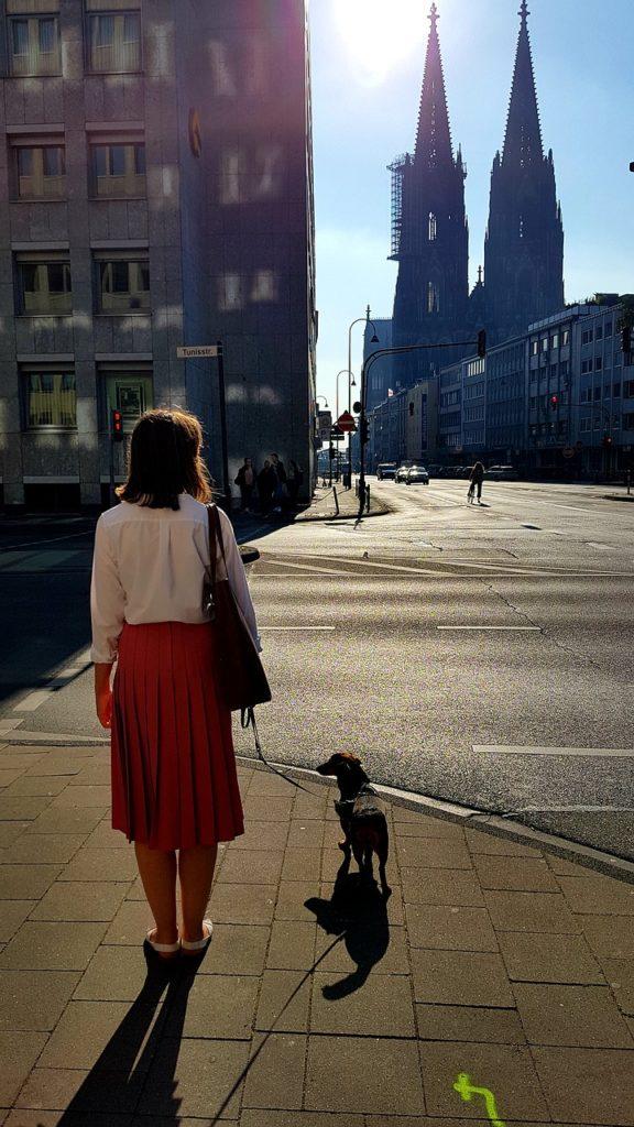 Cologne Pandemic Empty Road  - stux / Pixabay
