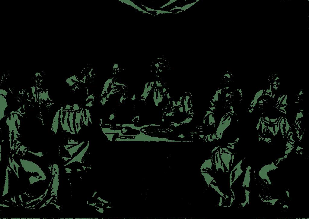 Last Supper Jesus Line Art Easter  - GDJ / Pixabay